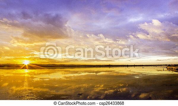 algarve , cloudscape , timelapse , ηλιοβασίλεμα  - csp26433868