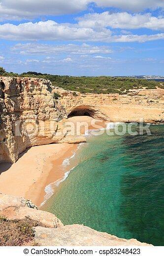 Algarve region beach - csp83248423