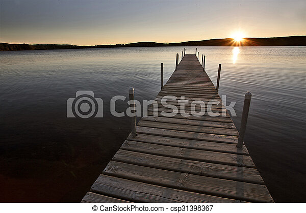 Algonquin Park Muskoka Ontario Lake Wilderness - csp31398367