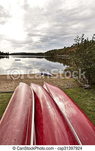 Algonquin Park Muskoka Ontario Lake Wilderness - csp31397924