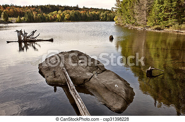Algonquin Park Muskoka Ontario - csp31398228