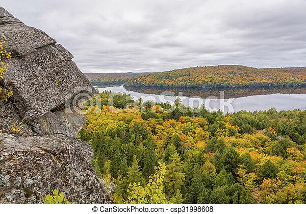 Algonquin Provincial Park in Fall - csp31998608