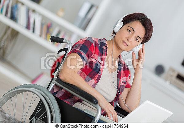 algum, carregando, música - csp41754964