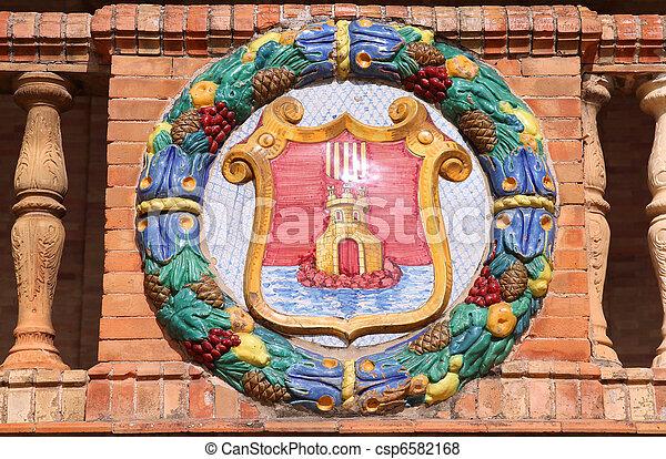 Alicante - Coat of arms - csp6582168
