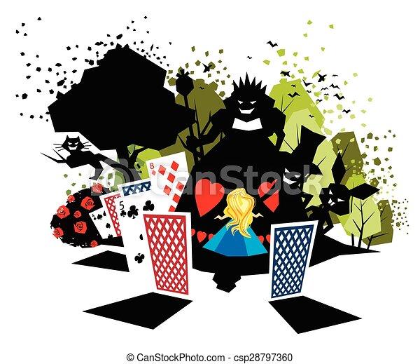 Alice in Wonderland  - csp28797360