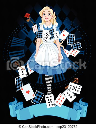 Alice in Wonderland - csp23120752