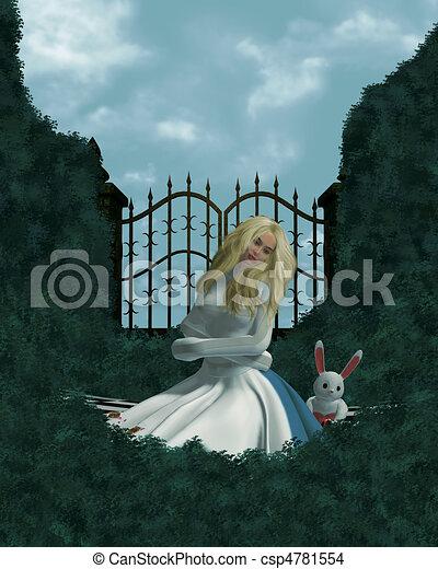 Alice In Wonderland - csp4781554