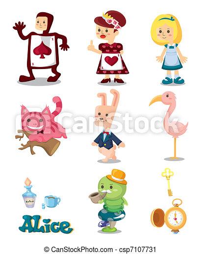 Alice in Wonderland  - csp7107731