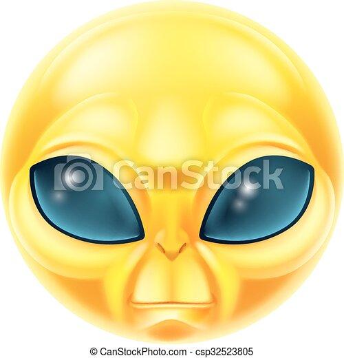 Alien Emoji Emoticon