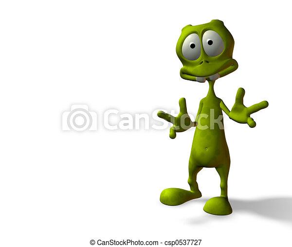 alien, verrassing - csp0537727