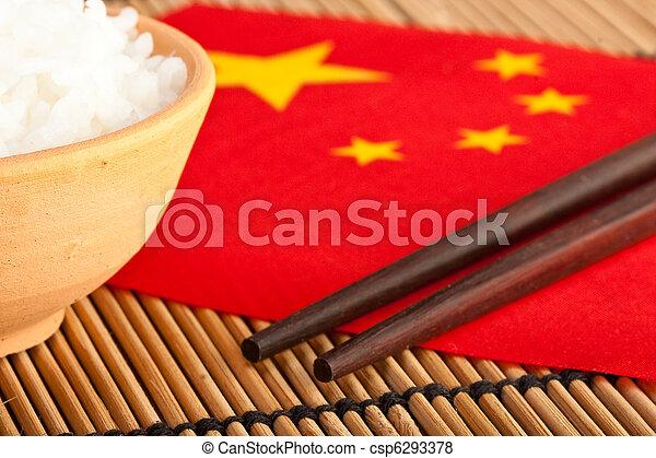 alimento, (2), chinês - csp6293378