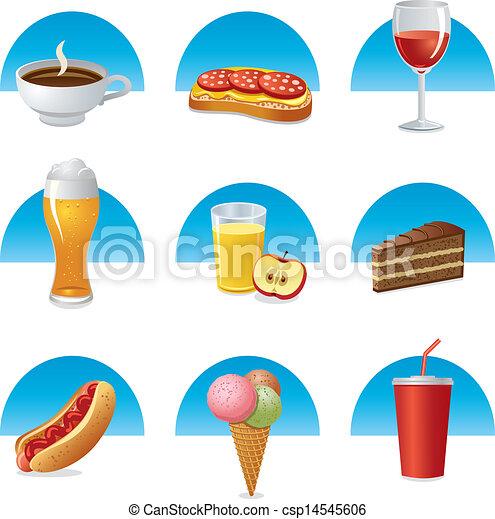 Comida y bebida - csp14545606
