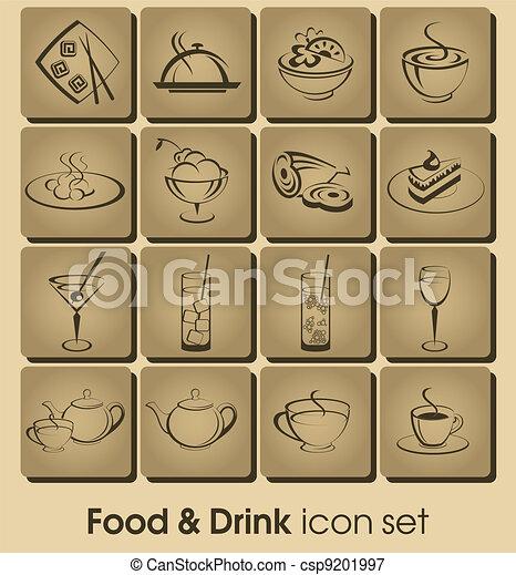 Comida y bebida - csp9201997