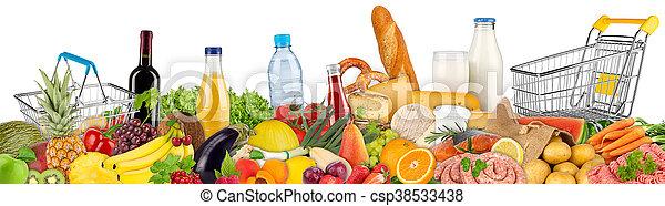 alimento, bebidas, variación - csp38533438