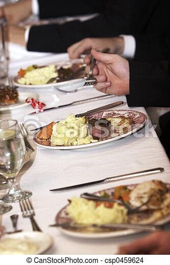 alimento, boda - csp0459624