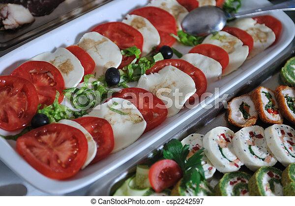alimento, buffet - csp2242597