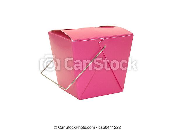 Cartón de comida - csp0441222