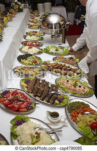 Comida para restaurantes de comida - csp4790085