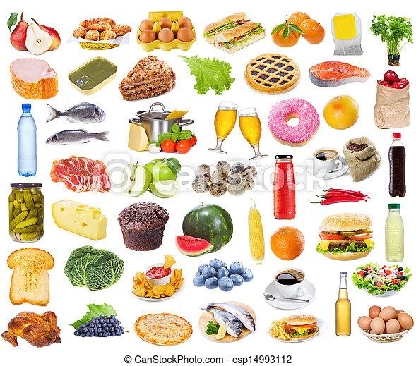 Colección de comida - csp14993112