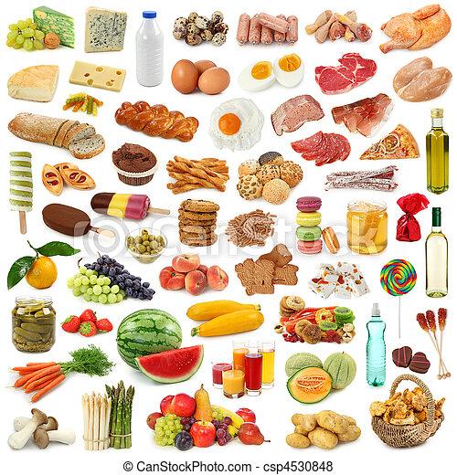 alimento, colección - csp4530848