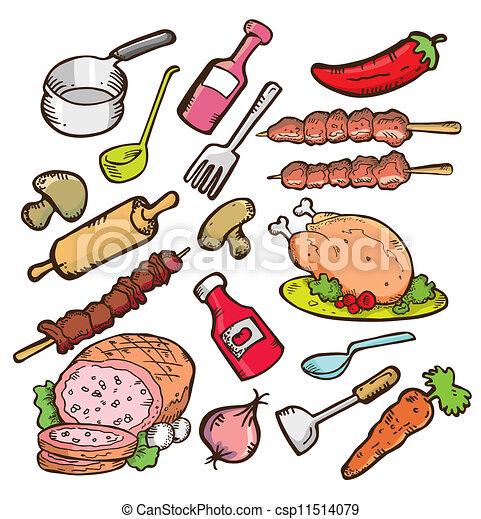 alimento, cookware - csp11514079