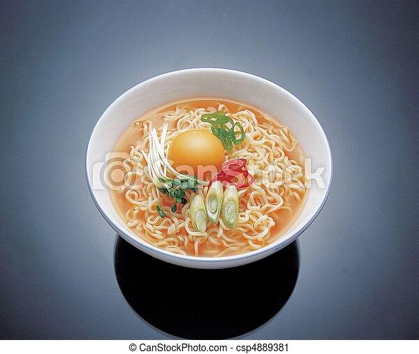 Comida coreana - csp4889381