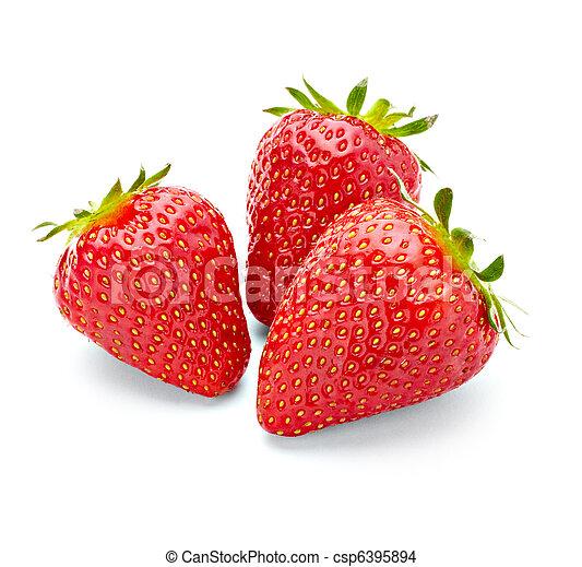 alimento, fresa, fruta - csp6395894