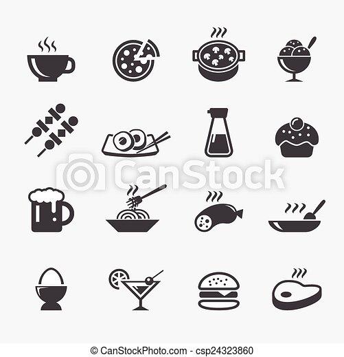 alimento, icono - csp24323860