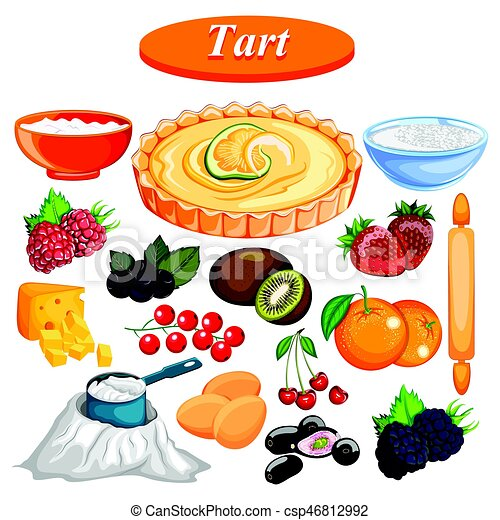 alimento, ingrediente, tempero, fruta azedo - csp46812992