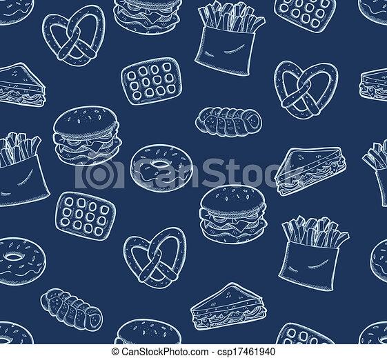 alimento, lanche, fundo - csp17461940