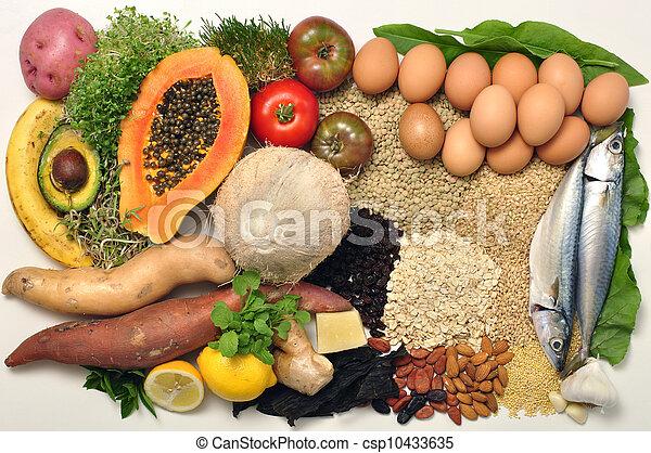 Comida saludable - csp10433635