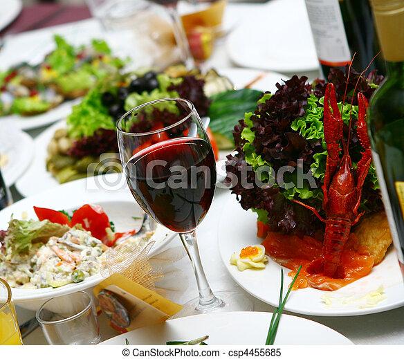 alimento, tabela, gostoso, fresco - csp4455685