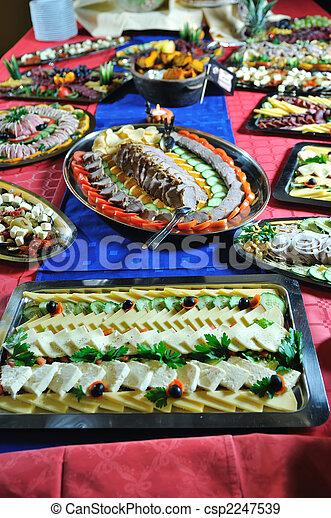 La comida está lista - csp2247539