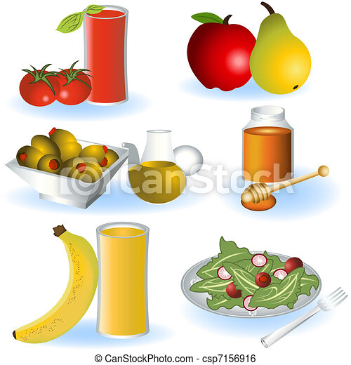 alimento, vegetariano, 2 - csp7156916