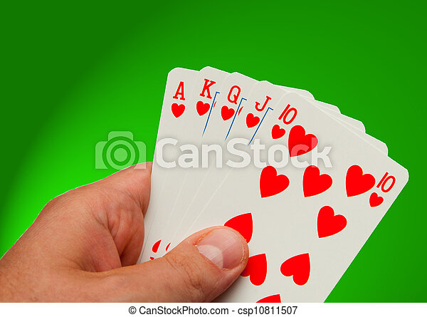 All cards in your hand at the casino - csp10811507