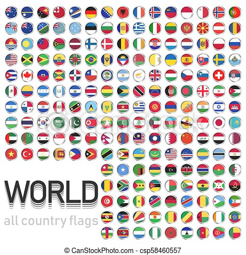 all country flags of the world collection of flags from all