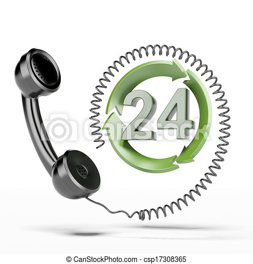 All-day hours handset - csp17308365
