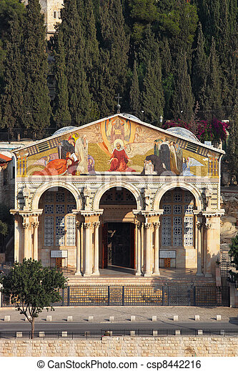All Saints Church in Jerusalem - csp8442216