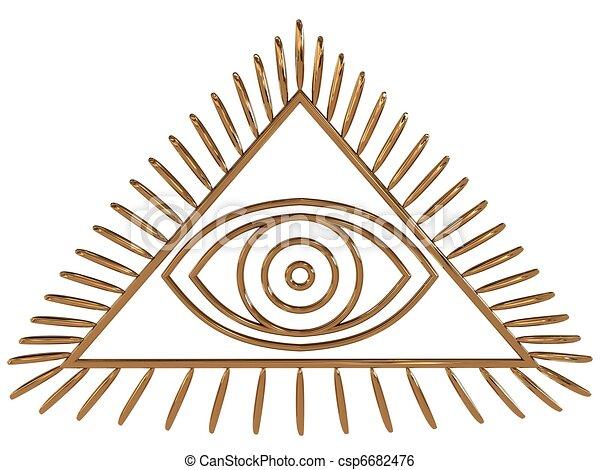 All seeing eye csp6682476