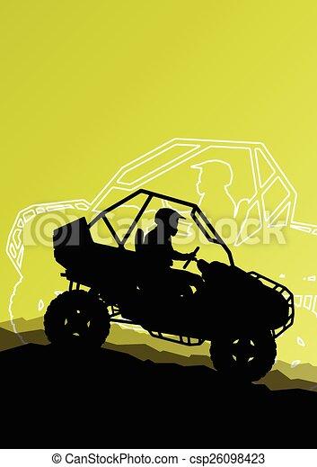 All terrain vehicle quad motorbike - csp26098423