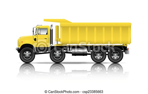 all wheel drive dumper - csp23385663