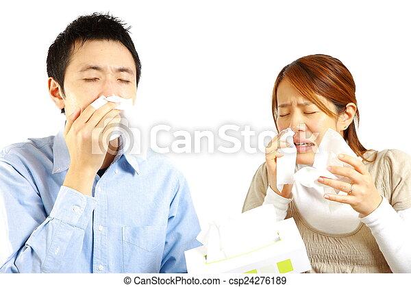 allergic rhinitis - csp24276189