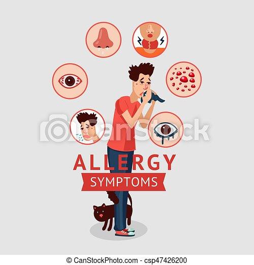 Hay Fever Female Eye Itch Lizenzfrei Nutzbare Vektorgrafiken, Clip Arts,  Illustrationen. Image 134823066.
