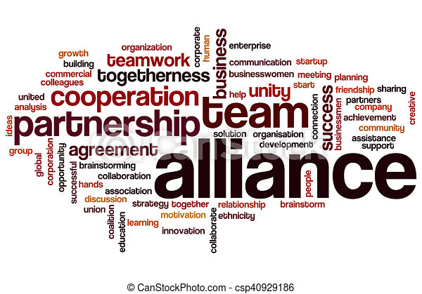 Alliance word cloud