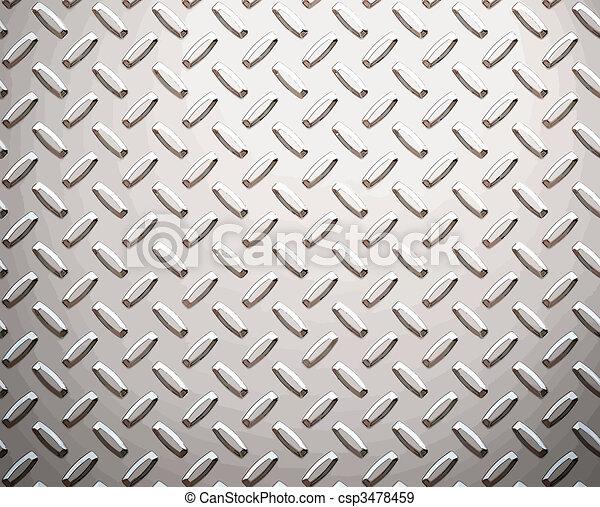 alloy diamond plate metal - csp3478459
