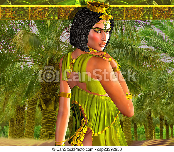 Alluring Egyptian Woman - csp23392950