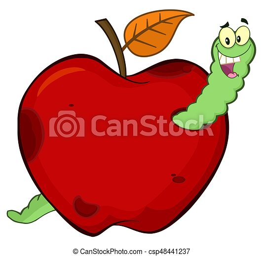 férgek és almák