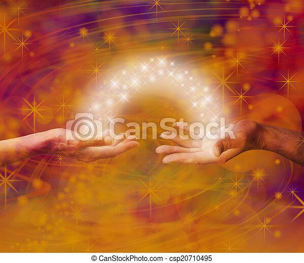 Interacción entre almas - csp20710495