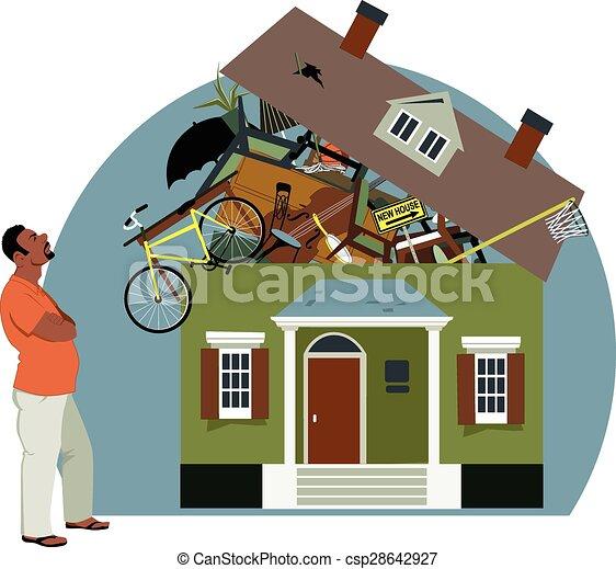 Crisis de almacenamiento - csp28642927