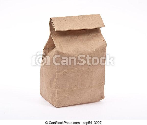 almoço, saco - csp5413227
